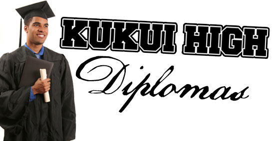 Kukui High Diplomas